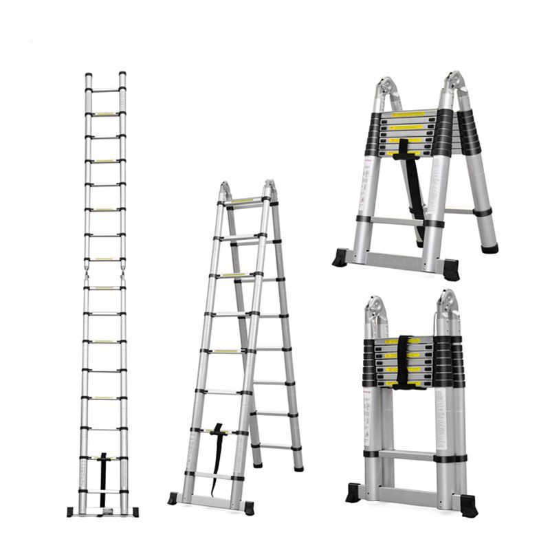 how to set up your telescopic ladder