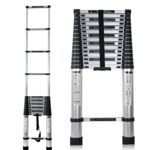 how does telescopic ladder work?