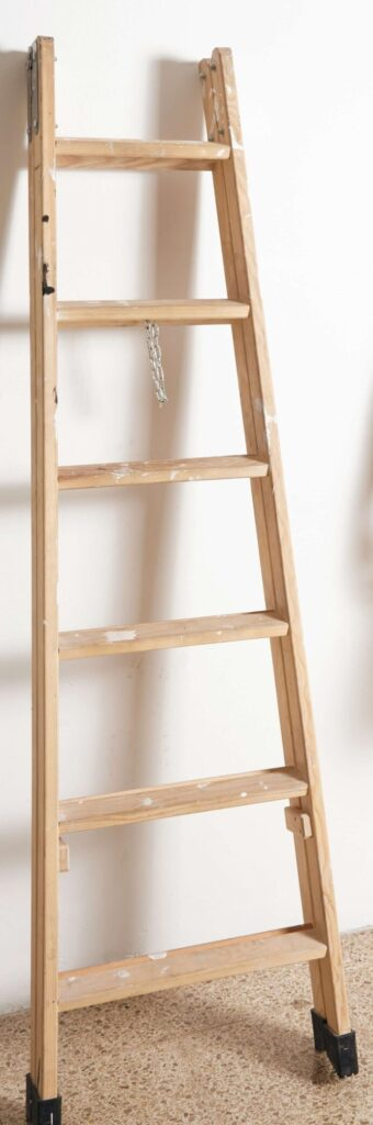 How to build wood step ladder